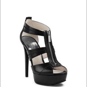 Michael Kors Berkeley Platform leather sandal